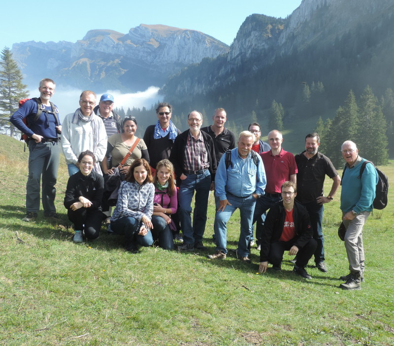 On this year's company excursion, half the PRS staff hiked from Schwarzenberg in Lucerne (831 m above sea level) via Stäfeli in Lucerne (1,393 m above sea level) to the Unterlauelen alp in the canton of Nidwalden, Switzerland (XY m above sea level).