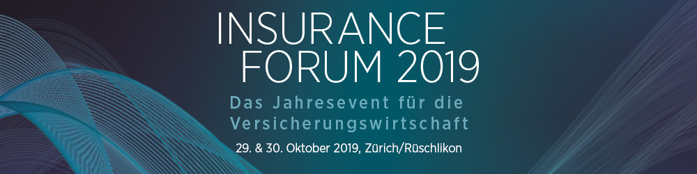 Prof. Dr. Michel Dacorogna speaks at the Insurance Forum 2019.