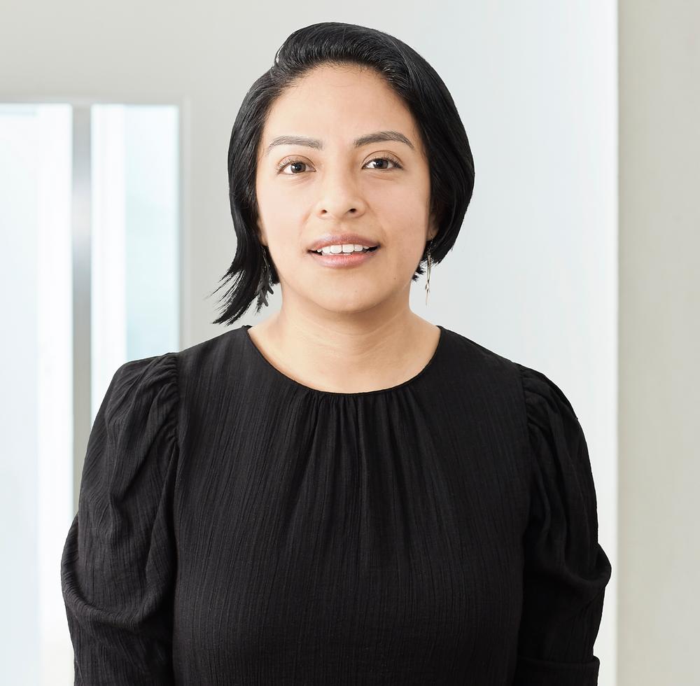 Actuary Rebeca Juárez is representing PRS in Mexico.