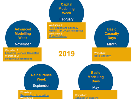 Validation und Basic Casualty: Prime Re Academy offers two new workshops in 2019