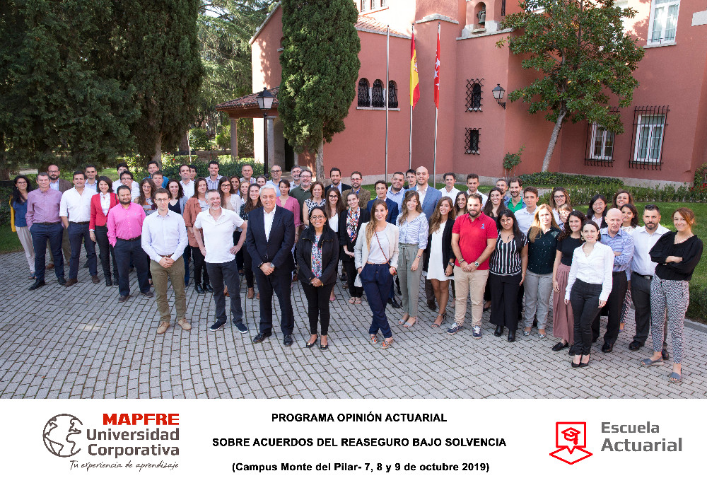 Prime Re Academy conducts an in-house workshop at MAPFRE with 60 participants