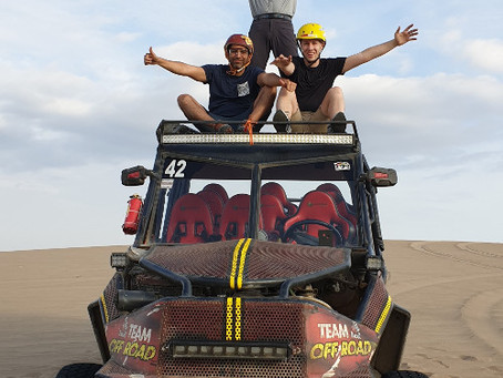 When Business Meets Leisure Part 2: From delivery to the adventures in the national park of Paracas