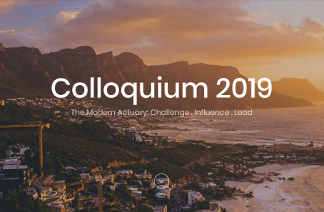 "2019 IAA Colloquium in Cape Town: Open for submissions of papers on the subject ""The Modern Actuary"""