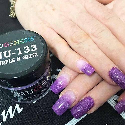 NU 133 Purple N Glitz