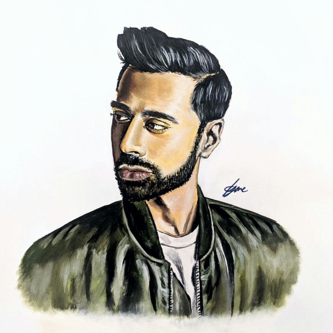 Hassan-Minhaj-Painting