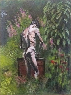 nude-man-in-nature-painting