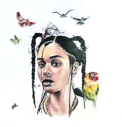 Ama-Lou-Painting