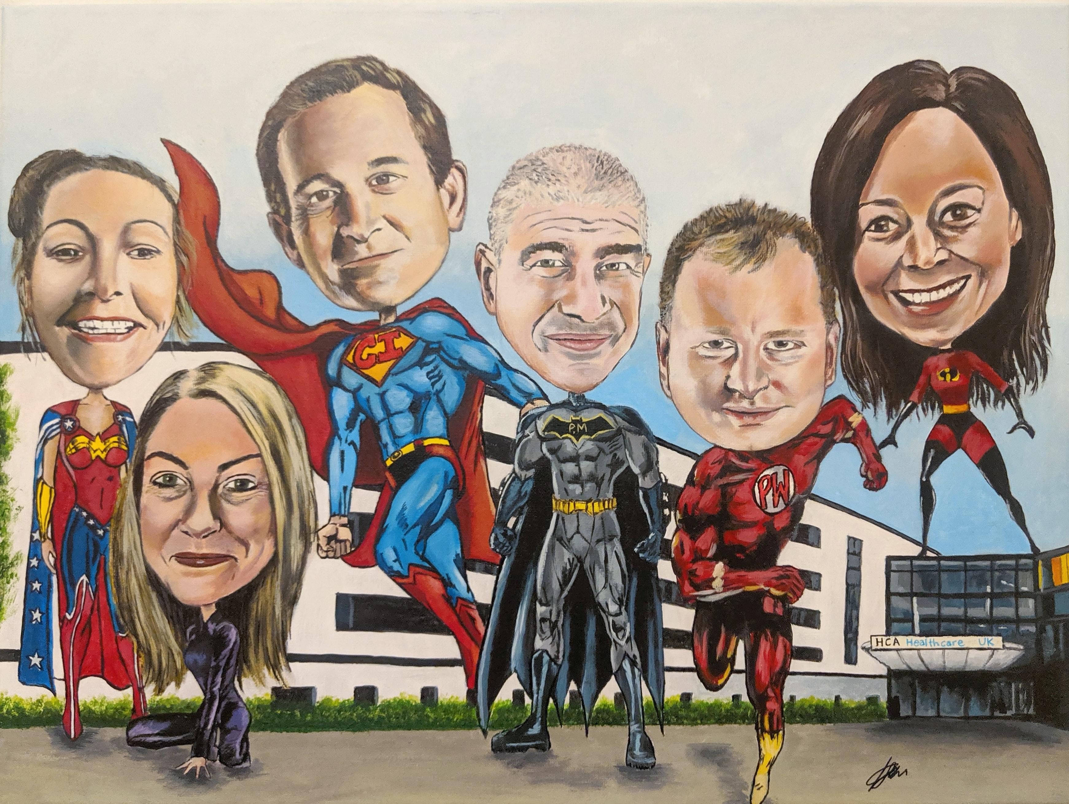 Healthcare- Heroes-Painting