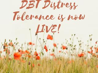 Distress Tolerance Course is now public!