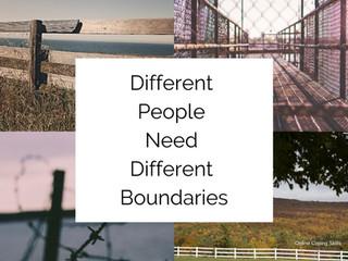 Boundaries are Like Fences*