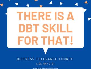 FREE DBT Distress Tolerance Course!