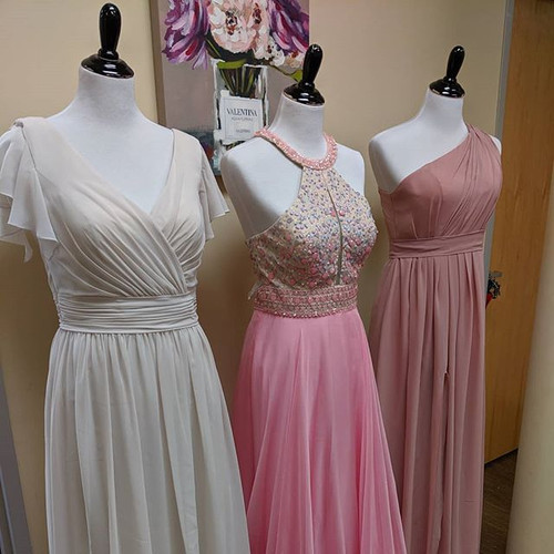 Our gown sale has been a huge hit! As we