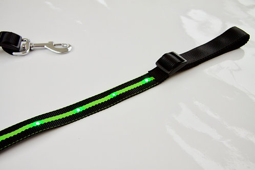 LED Breastplate in GREEN