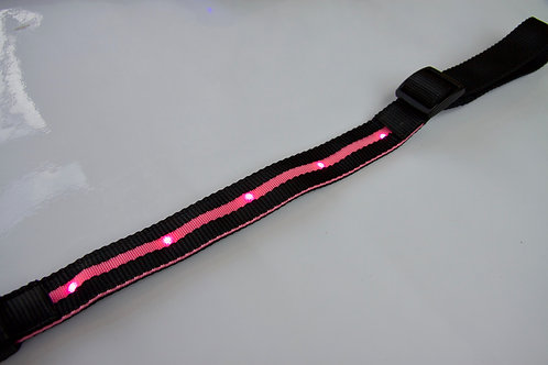 LED Breastplate in PINK