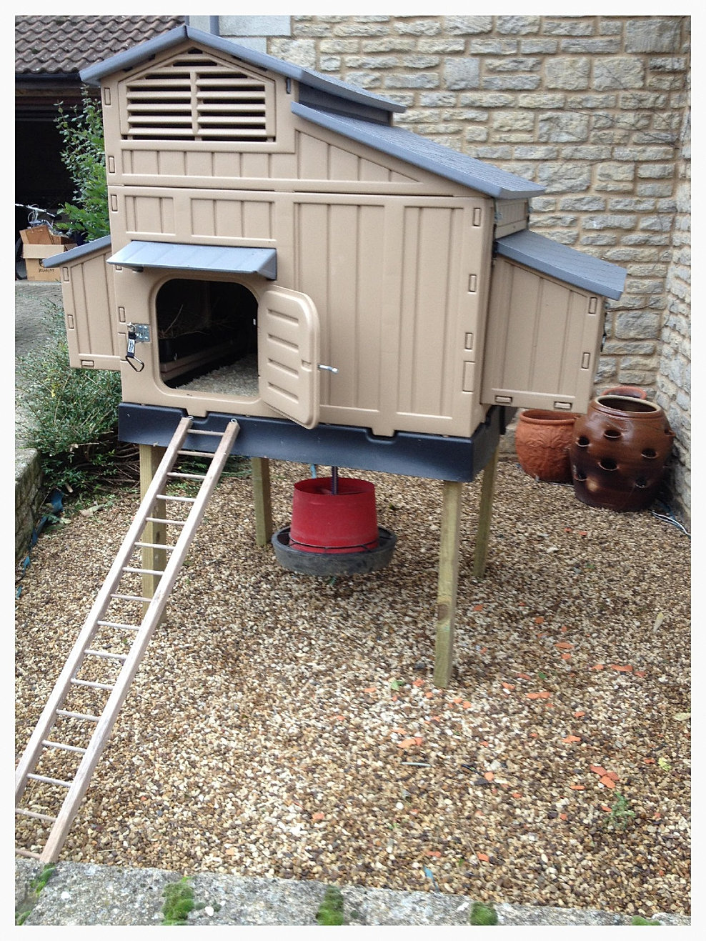 Quality Plastic Chicken Coops