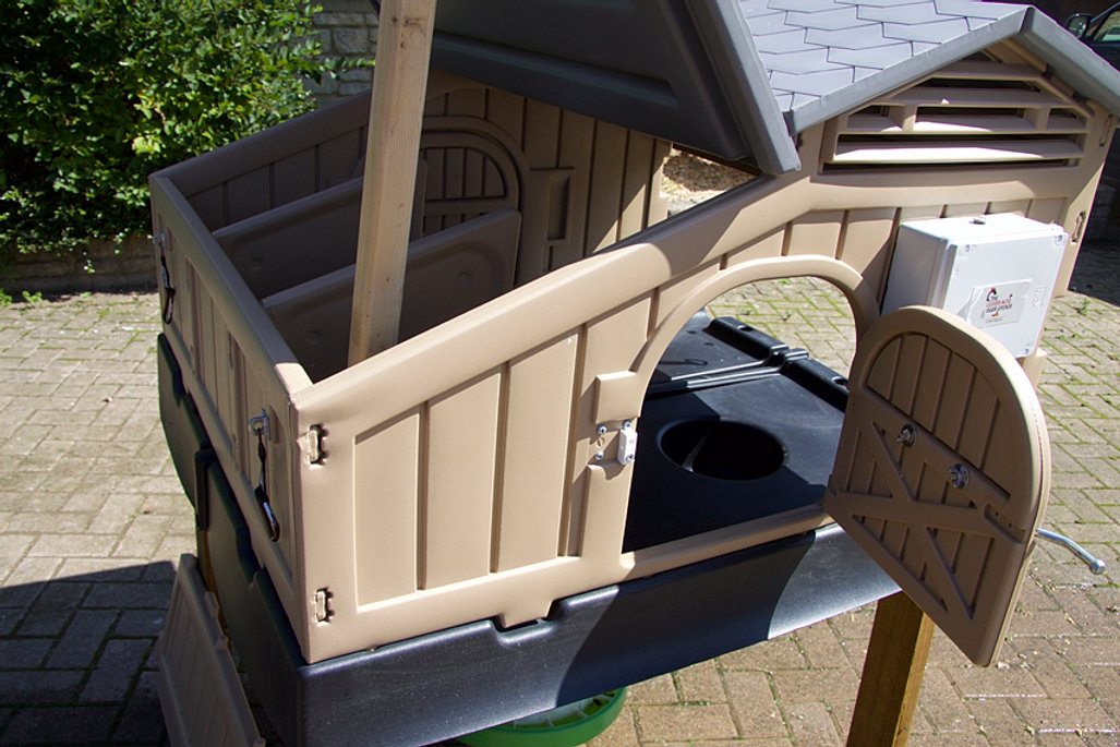 The Clever Coop Company Plastic Chicken Coops Houses
