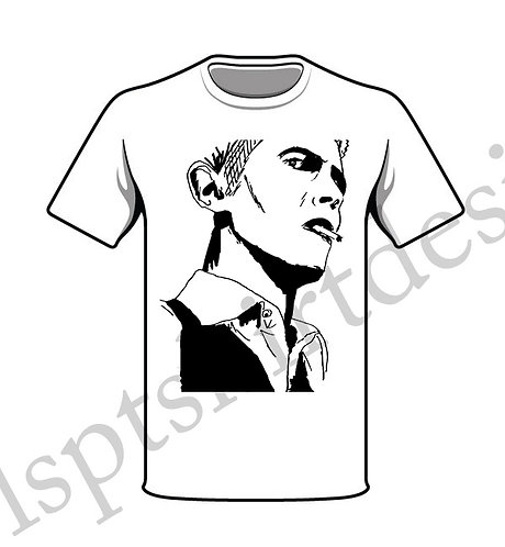 David Bowie: Thin White Duke T-Shirt