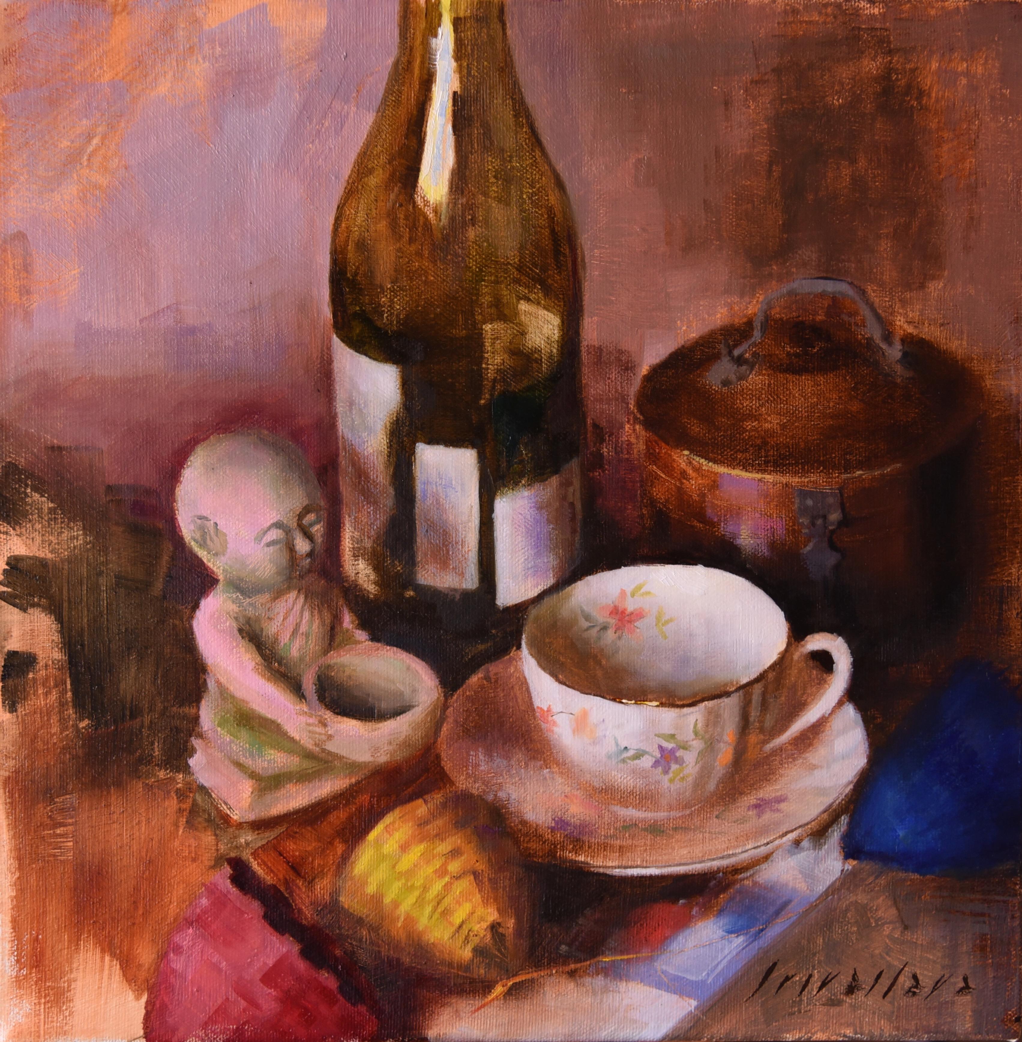 Gold Rim Tea Cup