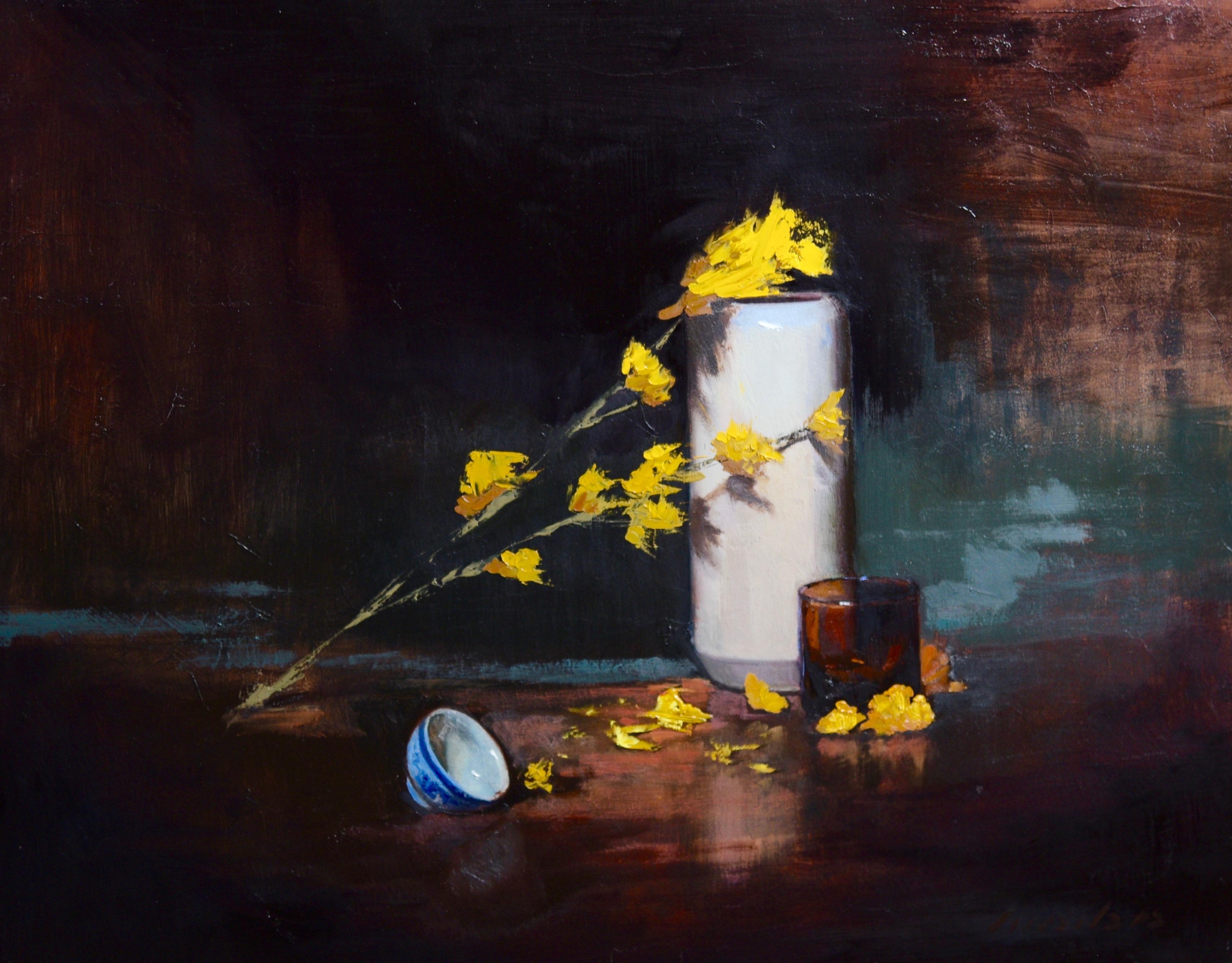 Petals With Vase
