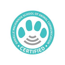 Animal communicater certified seal