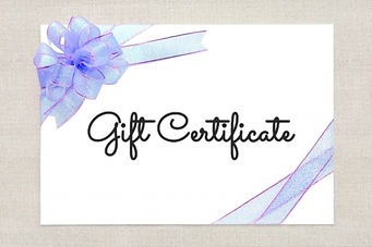 Gift Certificate3 purple ribbon
