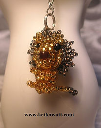 Golden Fairy 444 - Beads Lion (courage)