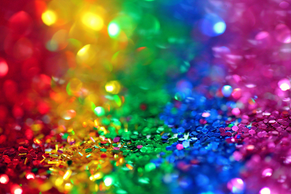 colourful sparks