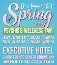 T and T spring Psychic and Wellness Fair