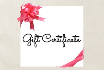 Gift Certificate2 red ribbon