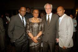 Music Producer & Humanitarian Activist Mike Jean, H.E. Ms Joy Ogwu (Nigeria), Mr