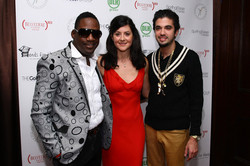 Mike Jean, Ines Ferre and DJ Cassidy