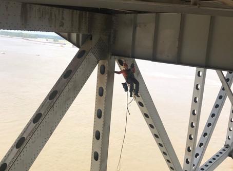 Bridge Inspection Engineers Are Superheroes