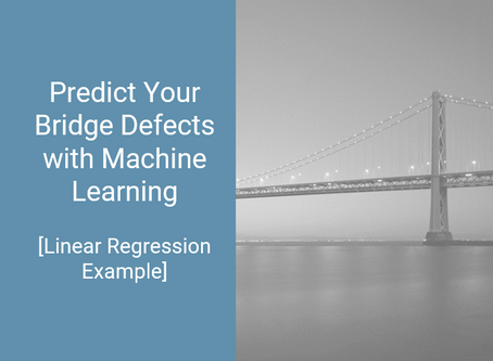 Predict Your Bridge Defects with Machine Learning