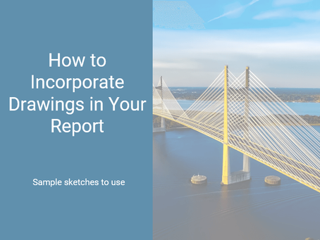 How to Incorporate Drawings in Your Report