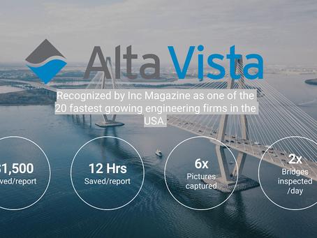 Case Study: Alta Vista Reduce 75% On Bridge Inspection Reporting Costs Using Data Recon