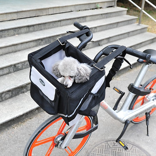 Foldable Bicycle Pet Basket Carrier