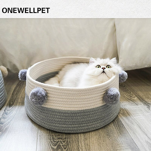 Sleeping Cat Nest Bed