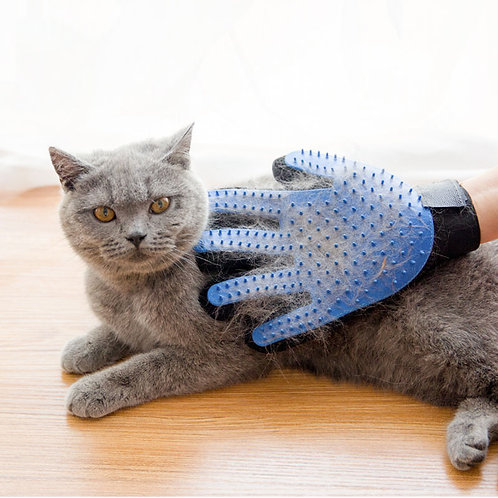 Cat Hair Removal Grooming Glove