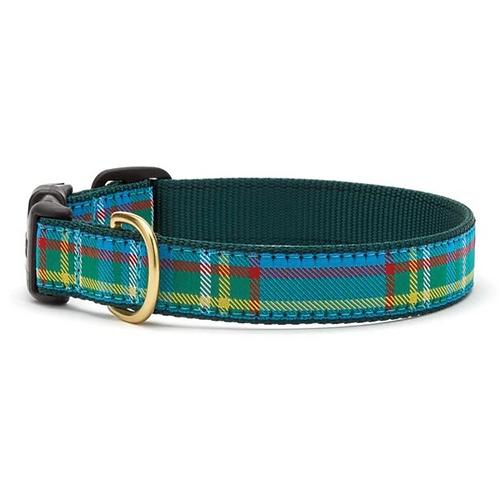 Kendal Plaid Dog Collar