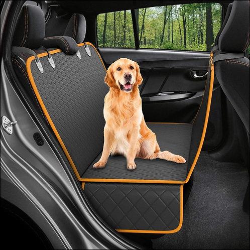 Dog Car Seat Carrier Cover Rear Back Blanket Mat Non-Slip Folding