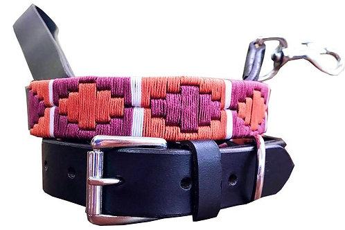 CARLOS DIAZ Genuine Leather w/ Matching Lead