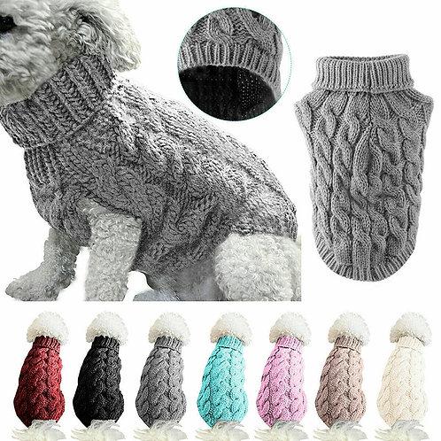 Knitted Crochet Sweater