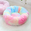 Thumbnail: Round Plush Pet Bed
