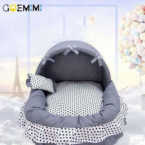 Luxury Princess Basket Pet Bed