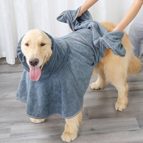Oversized Quick Drying Ultra Absorbent Pet Bath Towel