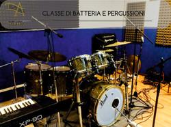 CLASSE DI BATTERIA E PERCUSSIONI