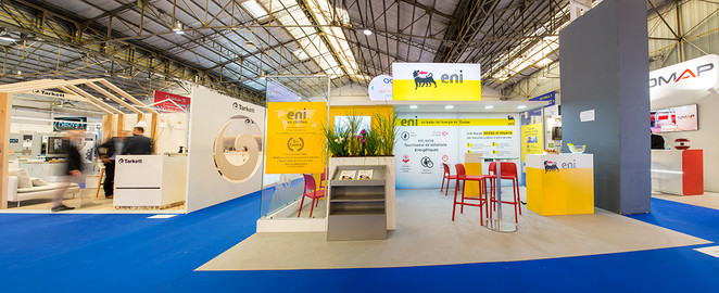 Vues Stand ENI