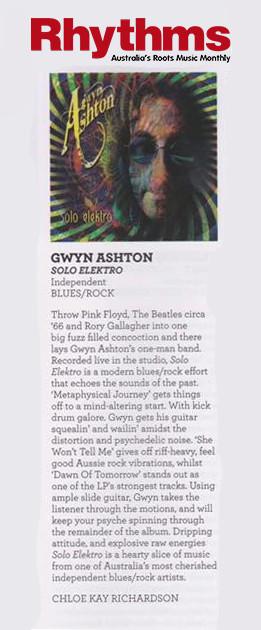 Rhythms Magazine Australia