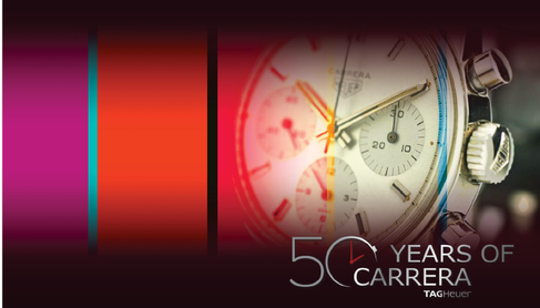 TAG HEUER - 50 ANOS