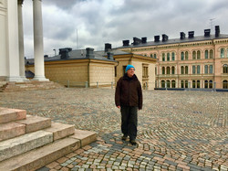 Frank Roshi during Helsinki Street Retreat (2017)